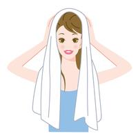 イラスト Hair Care Towel(5260204)