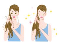 イラスト hair care(5260205)