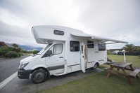 Camper Ban and Holiday Park South New Zealaland キャンピングカー