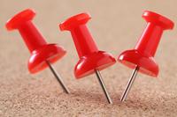 写真 Red push pin(5261510)