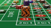 イラスト Casino chips bet on the roulette table(5265327)