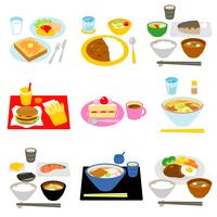 イラスト Meal Snacks White Background(5265472)