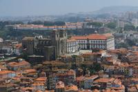 写真 Historical district of Porto taken from the tower of Clerigos church(5265676)
