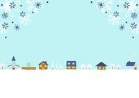 イラスト Winter landscape(5265699)