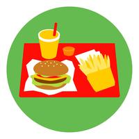 イラスト Hamburger set(5265828)