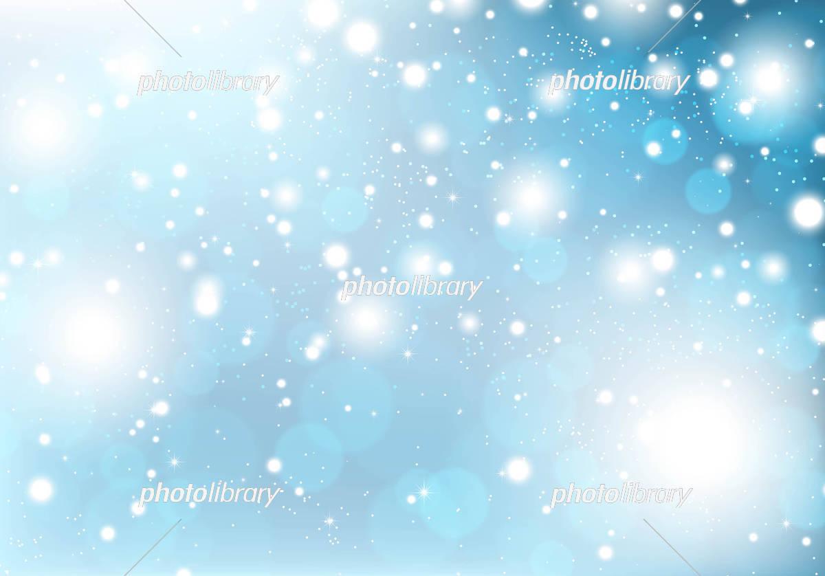 雪の背景素材 イラスト素材 [ 5353212 ] - フォトライブラリー photolibrary