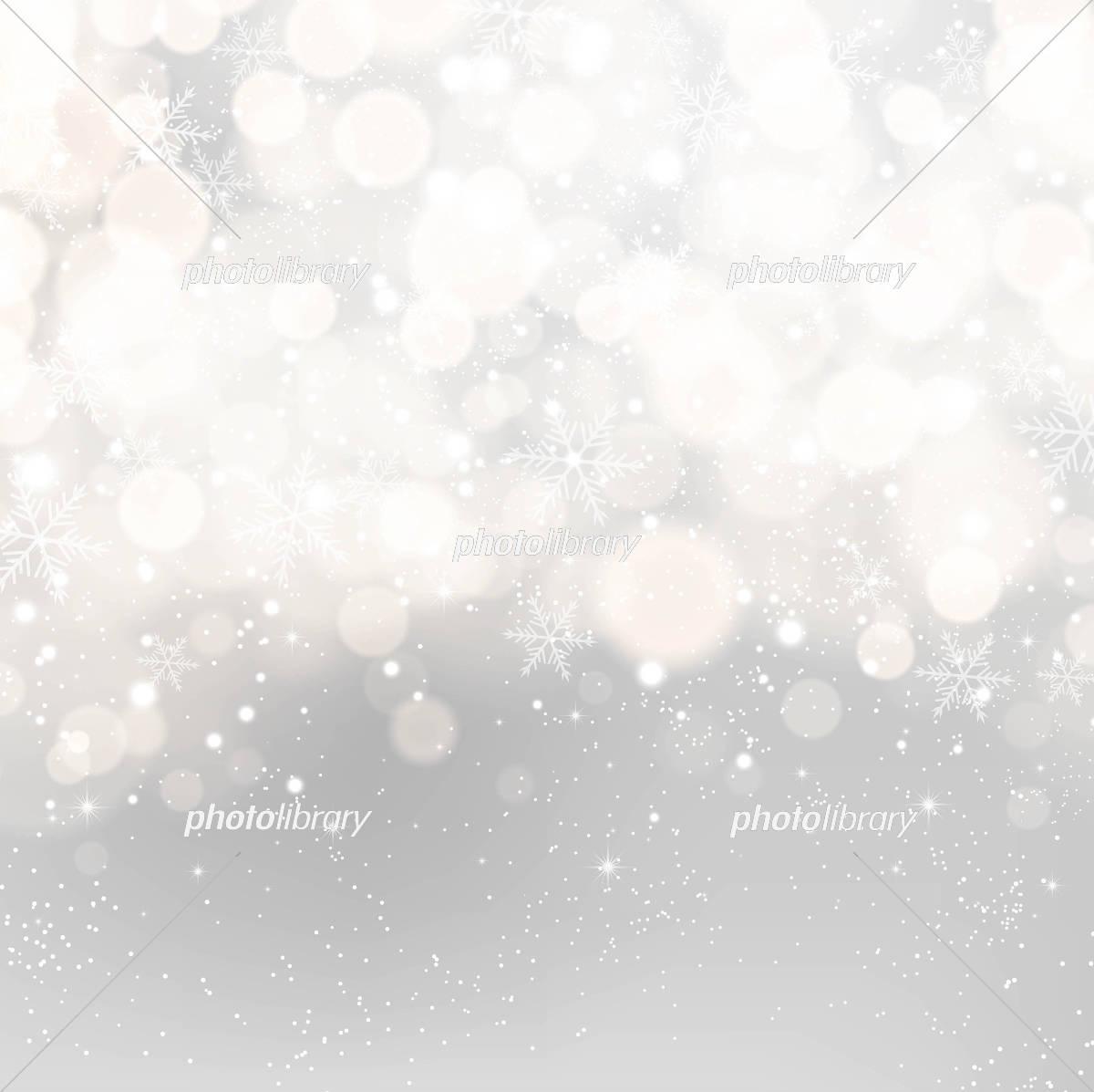 雪のキラキラ背景素材 イラスト素材 [ 5353215 ] - フォトライブラリー