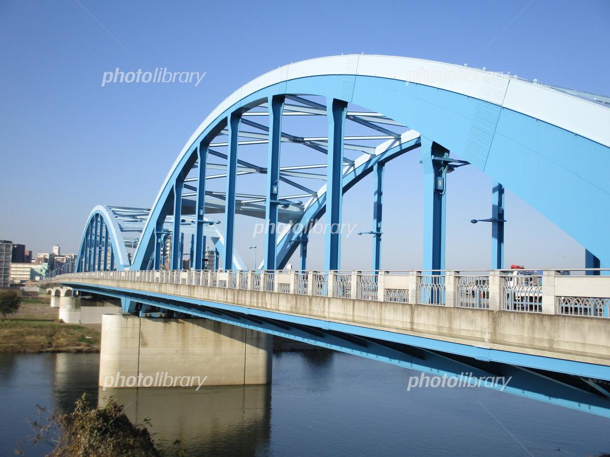 多摩川 丸子橋 写真素材 [ 5353569 ] - フォトライブラリー photolibrary