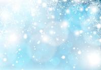 イラスト Snow crystal light background(5353214)