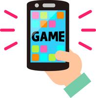 イラスト Smartphone game application(5353252)