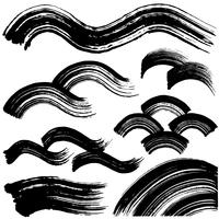 イラスト Written handwritten brushlet illustration(5353348)