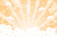 イラスト Snow Crystal Sky(5353354)