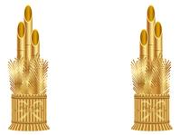イラスト New Year golden golden pine(5353876)