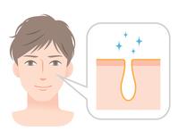 イラスト Men Skin Care Pore(5354374)