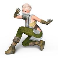 イラスト Female fighter(5354816)