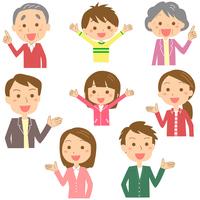 イラスト Family upper body(5354956)