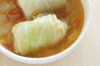 写真 Roll cabbage and consomm��� soup(5355313)