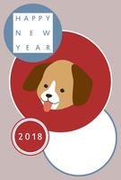 イラスト New Year cards 2018(5355472)