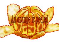 イラスト Peel the mandarin orange(5355487)