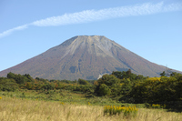 写真 Autumn Hokusetsu Fuji Oyama western foot(5355554)