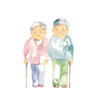 イラスト Grandparents, materials(5355773)