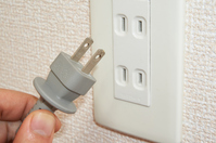 Outlet and plug  Photo