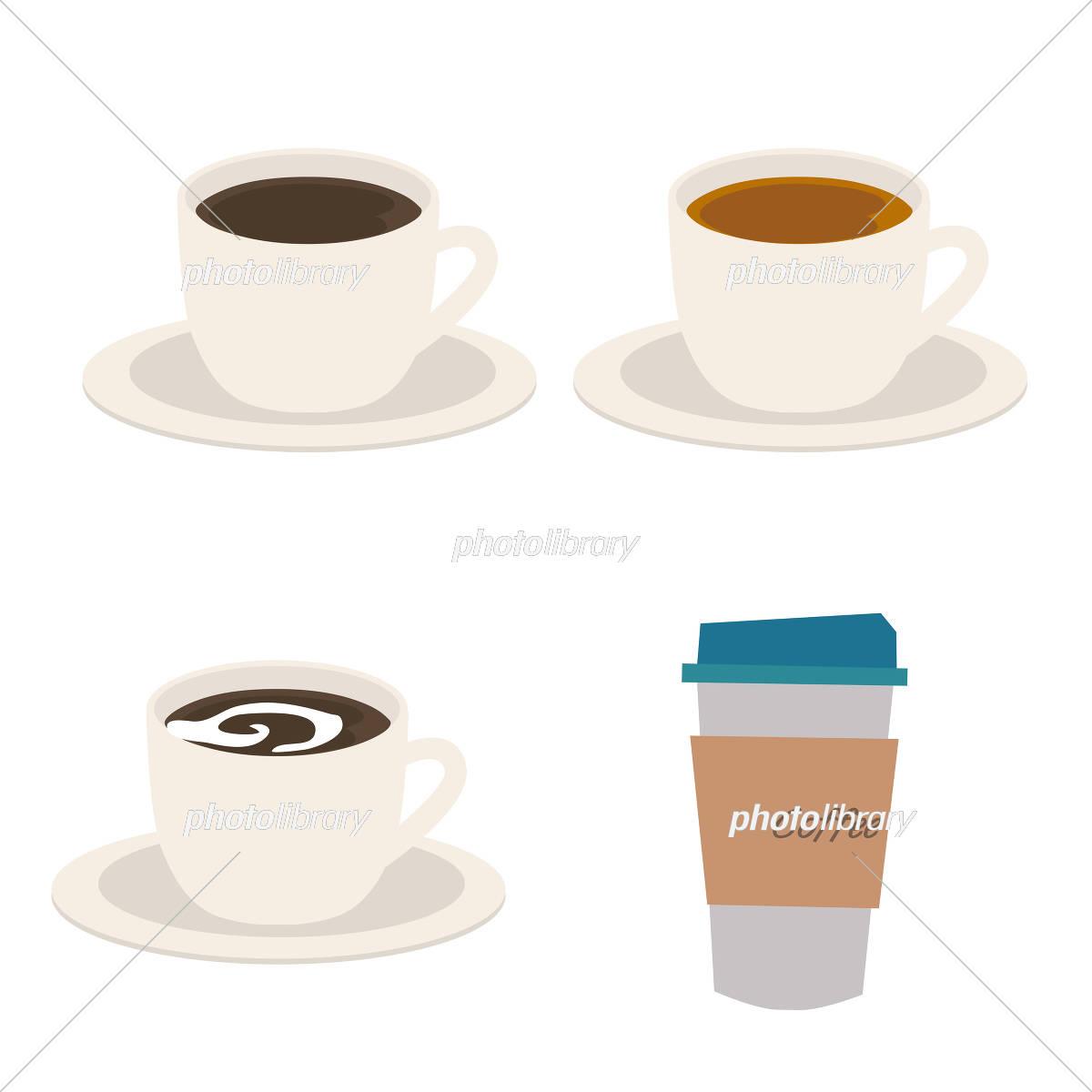 コーヒー 紅茶 イラスト イラスト素材 5411500 フォトライブラリー