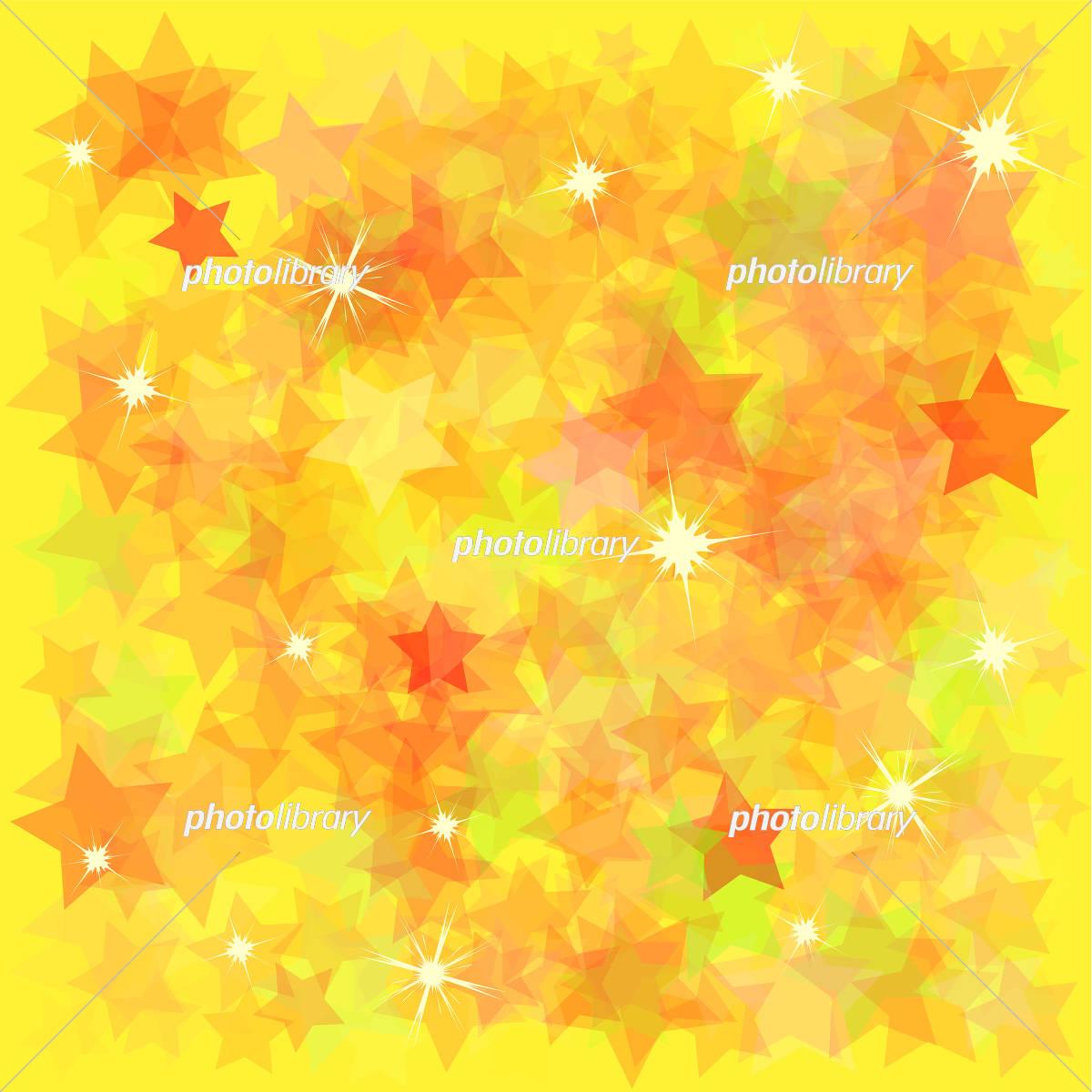 星 背景素材 黄色 イラスト素材 [ 5511885 ] - フォトライブラリー