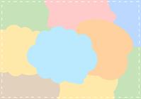 イラスト Bubble stitch frame(5544429)