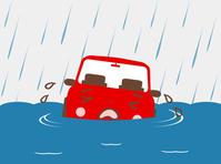 イラスト A flood car(5544481)