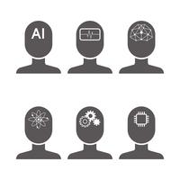 イラスト AI icon(5544504)