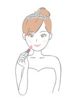 イラスト Bride lipstick(5546222)