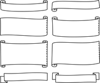 イラスト Handwritten flag, Flag illustration set(5546703)