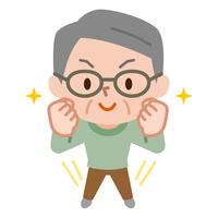 イラスト Energetic Senior Male(5547286)