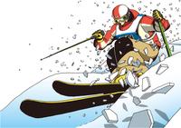 イラスト Ski Moguls(5547634)