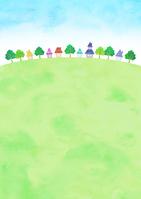 イラスト Sky and townscape(5547694)