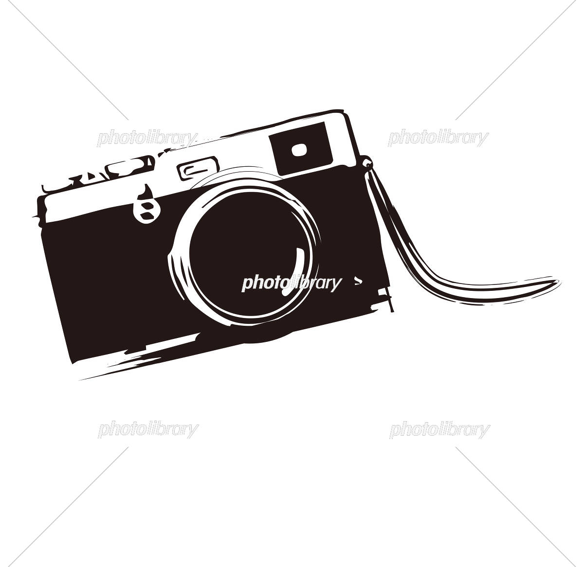カメラ イラスト素材 [ 5581865 ] - フォトライブラリー photolibrary