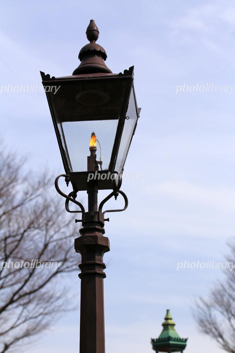 ガス灯 写真素材 5587952 フォトライブラリー Photolibrary