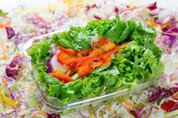 写真 Cut vegetables in a plastic container(5588448)
