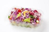 写真 Cut vegetables in a plastic container(5588481)