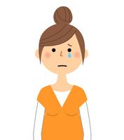 イラスト Pregnant woman cries premature(5588921)