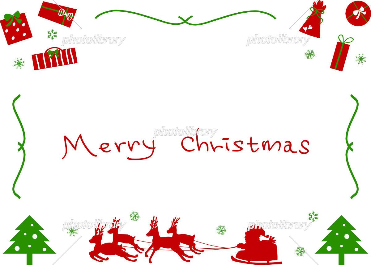クリスマス フレーム イラスト素材 5691789 フォトライブラリー