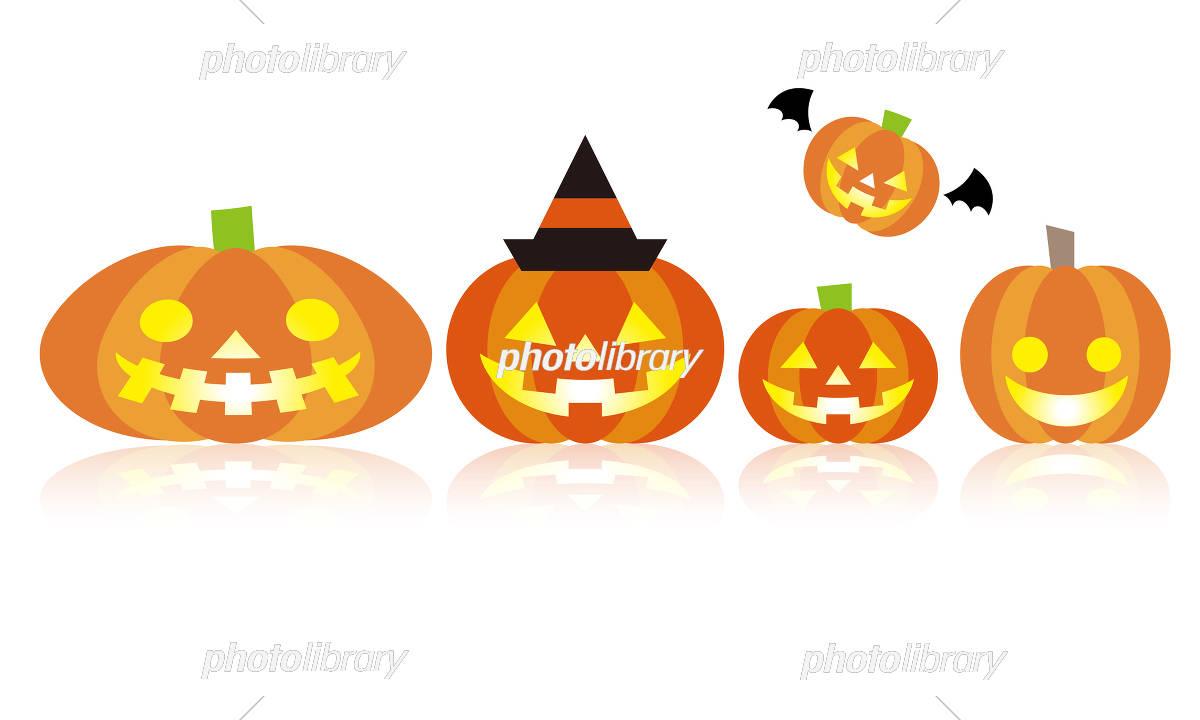 ジャックオランタン ハロウィン かぼちゃ イラスト素材 5726190