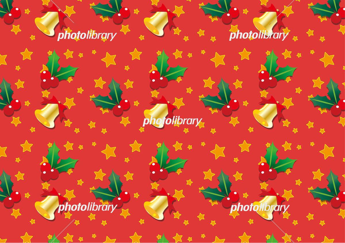 クリスマスパターン壁紙素材 イラスト素材 フォトライブラリー Photolibrary