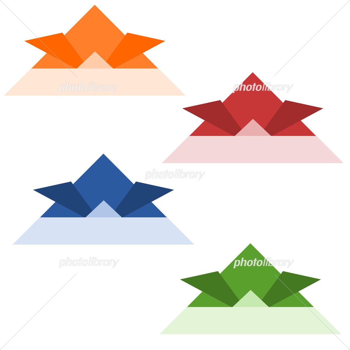 カブト 折り紙
