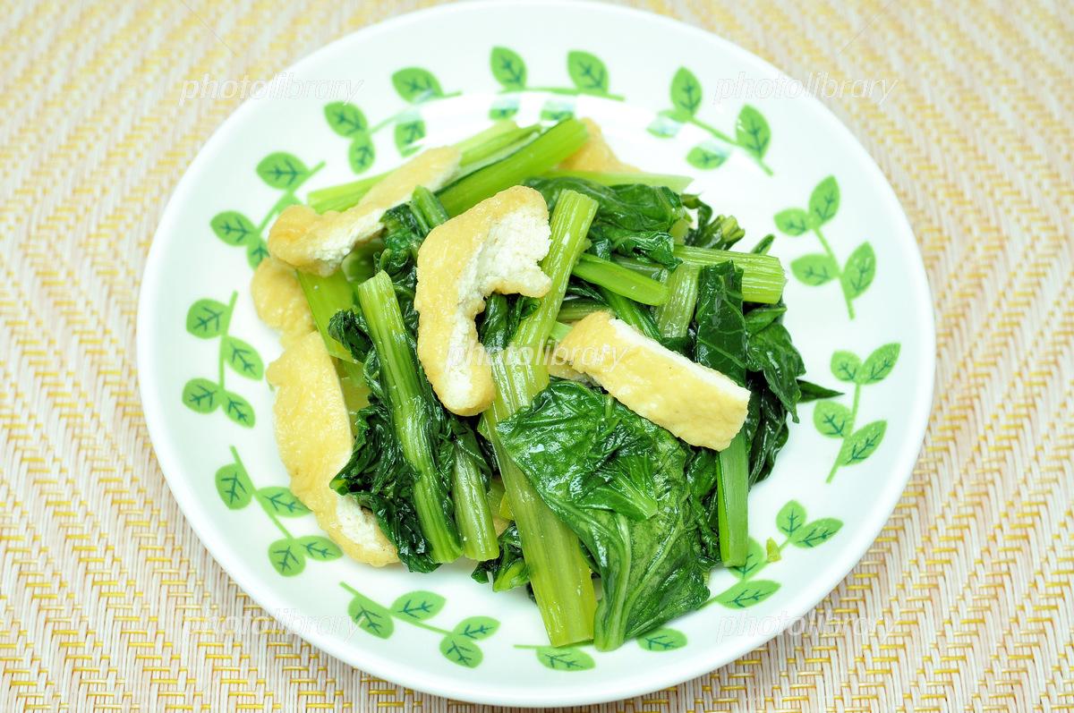 小松菜 煮浸し