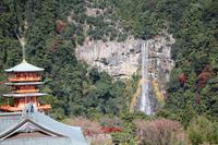 Nachisan Seiganto-ji and Nachi waterfall Stock photo [294576] Wakayama