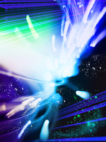 Space and flash Stock photo [295061] The