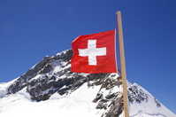 Swiss flag Stock photo [296369] Switzerland