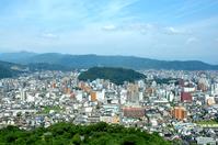 Shiroyama and Matsuyama city Stock photo [296493] Matsuyama